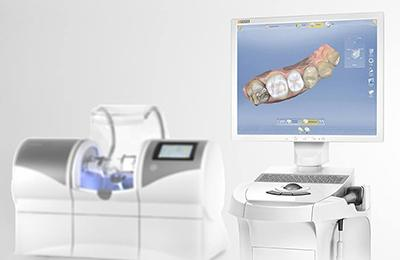 CEREC impression machine